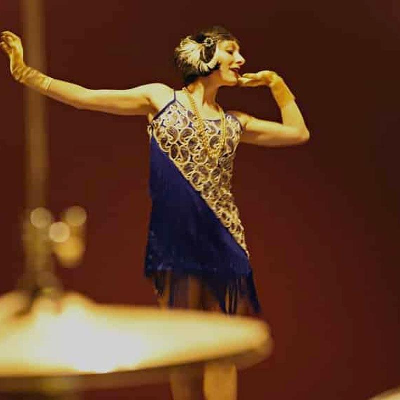 danseuse rétro